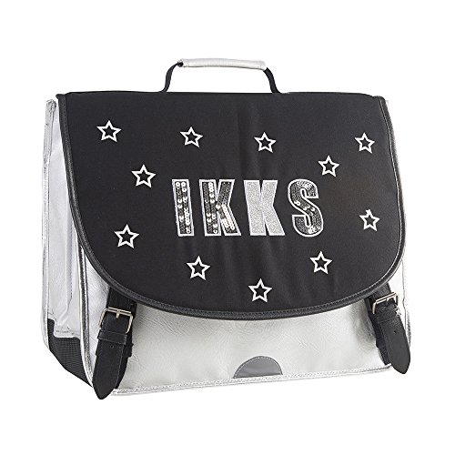 IKKS Lucy In The Sky Cartable, 41 cm, Black