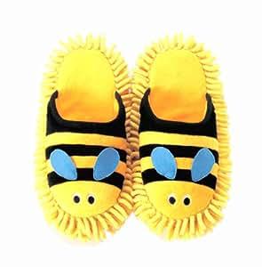pantoufles Mop abeilles ILF-3621 (Japon importation)