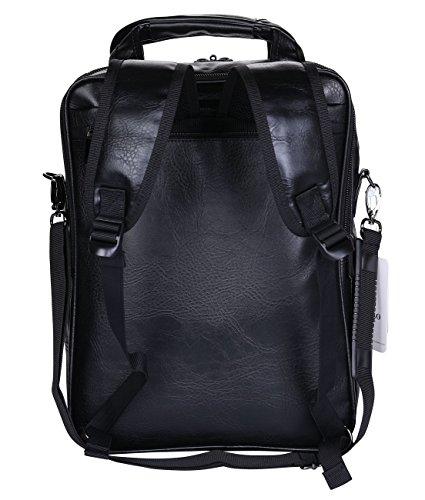 Imagen de videng polo  para portátil cuero negocio viajar colegio pantalón para 13 15 17 pulgadas negro v3  alternativa