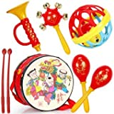 #5: Rattle Set - Musical Band Drum Set Baby Concert toy for Kids