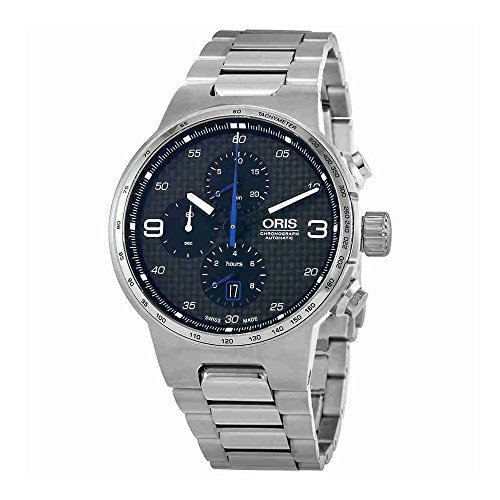 Oris Williams chronographe en Acier Inoxydable 44 mm Montre Homme 77477174164 Mo