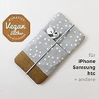 iPhone-Tasche Silver Dust / Handytasche / Smartphone Case / Vegane Handytasche / Vegane Accessoires / Geschenk für sie / Weihnachtsgeschenk