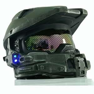 Xcoser Halo 4 Helmet Mask Master Chief Helmet With Blue Flash Led Light