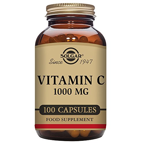 Solgar, Vitamin C , 1000mg , 100 Vegetarische Kapseln (Vitamin C-1000 Vitaminen Antioxidativen Mg)