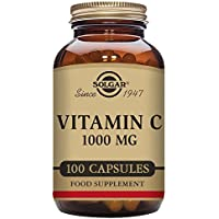 Solgar Vitamin C Vegetable Capsules, 1000 mg, Pack of 100