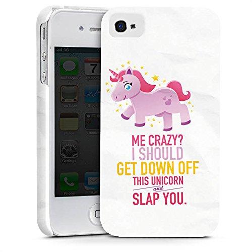 Apple iPhone X Silikon Hülle Case Schutzhülle Einhorn Unicorn Mädchen Geschenk Premium Case glänzend