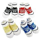 Best KF Baby Gifts For Newborn Girls - KF Baby Anti-Slip Baby Boy Sneaker Socks, 4 Review