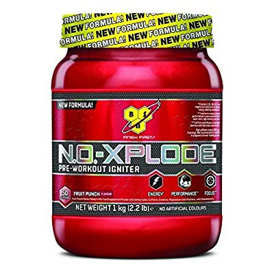 BSN No-Xplode 3.0 1kg,Most powerful all-in-one pre-workout formula (Fruit Punch) from BSN