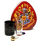 Pack de regalo: Taza, Llavero y Vaso Harry Potter