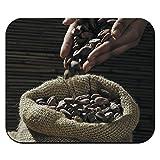 Ausgießen Kakaobohnen Mauspad Mauspad