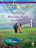 Marrying Minister Right (After the Storm) (English Edition)