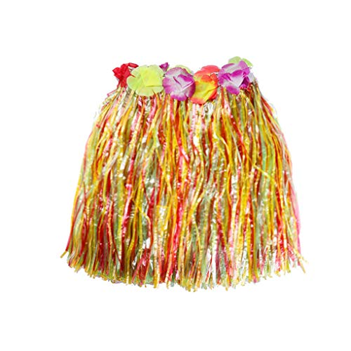 Uzinb Hawaiian Luau Hula Röcke Hibiscus Blumen-Geburtstag-Tropische Partydekoration Bevorzugungen Supplies