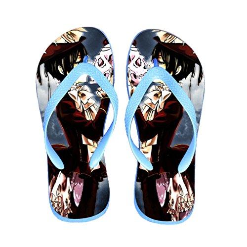 Bromeo Black Butler Anime Unisexe Flip Flops Tongs 67