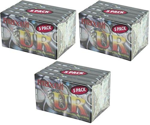 Maxell UR90Audio Kassette 90min blanko Media (15)