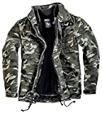 Black Premium by EMP Army Field Jacket Winterjacke Camouflage M