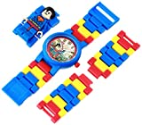 LEGO Kids 9005619 DC Universe Super Heroes Superman Plastic Watch with Link Bracelet