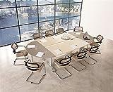 Emporio3 Tavolo da Ufficio Sala riunioni - VA1162, L 280 x 170 x H 73 cm