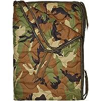 Mil-Tec - Manta Acolchada de Camping, diseño Militar, Estampado de Camuflaje