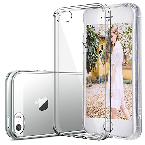 Vanki® Coque iPhone 5/5S/SE, TPU Souple Etui de Protection Silicone Case Soft Gel Cover Anti Rayure Anti Choc pour iPhone 5/5S/SE 5