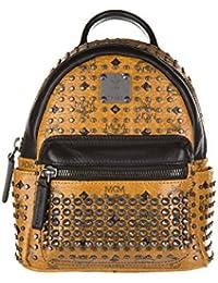 MCM sac à dos femme en cuir marron