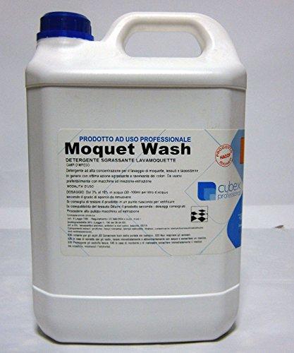 Cubex professional detergente sgrassante lava moquette moquet wash 5 kg