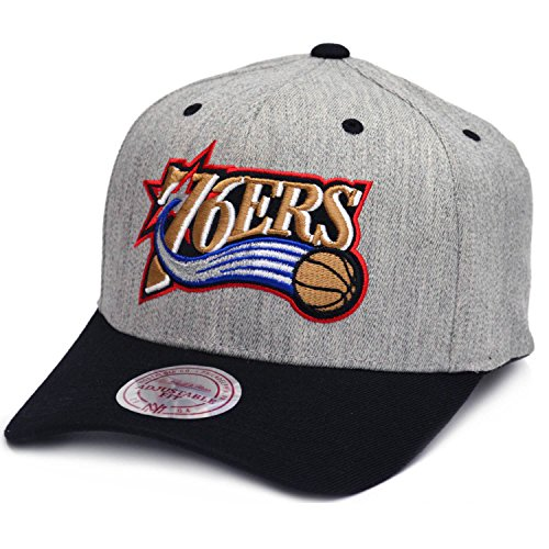 Philadelphia 76ers - Snapback - NBA Basketball - Mitchell & Ness - Herren Kappe (Nba Ball Synthetischen)