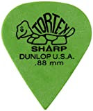 Dunlop 412R88 Sachet de 72 Médiators 0,88 mm