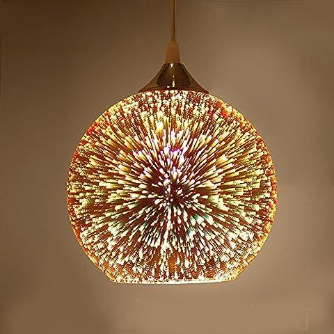 SPARKSOR Pendant Lamp bar club Ceiling lighting Pendant Lightshade Ø20xH120cm E27