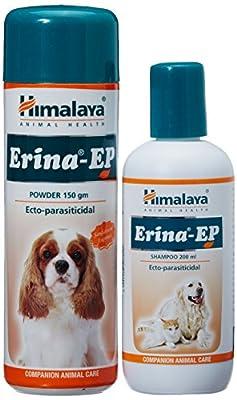 Himalaya Erina EP Powder and Shampoo Combi Pack, 150 g + 200 ml