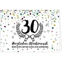 Suchergebnis Auf Amazon De Fur Xxl Geburtstagskarte 30