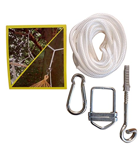 Leguana - Fixation plafond/arbre pour hamac/chaise-hamac