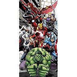 AYMAX S.P.R.L Marvel - Toalla de Playa, diseño de Los Vengadores