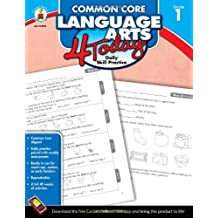 Common Core Language Arts 4 Today, Grade 1: Daily Skill Practice