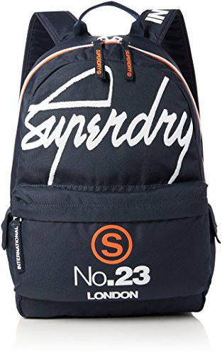 Superdry - International Montana, Mochilas Hombre, Blu (International Navy), 30.0x45.0x15.0 cm (W x H L)