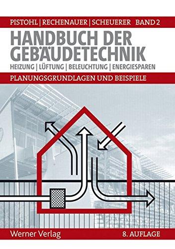 Handbuch der Gebäudetechnik - Planungsgrundlagen und Beispiele: Band 2: Heizung, Lüftung, Beleuchtung, Energiesparen (Elektro-wärme-band)