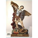Estatua San Miguel Arcángel 41cm de resina