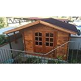 Casita de madera de jardín dekalux 3 x 2