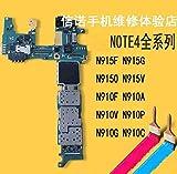 Calvas Carte mère d'origine pour Samsung Galaxy Note 4 N910U N910C