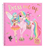 Depesche 10305 - Malbuch Dress Me Up Sticker Fun, Ylvi und die Minimoomis