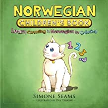 Norwegian Children's Book: Learn Counting in Norwegian by Coloring