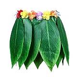 Party Leaf Hula Rock Hawaii Hula Grass Dance Röcke Fancy Kleid Kostüm für Erwachsene Größe für Party Zubehör Decor