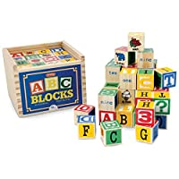 Schylling SC-AB Alphabet Wood Block