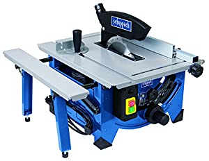 Scheppach HS80 240V 8-inch Table Top Sawbench with Sliding Side Extension