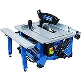 Scheppach 5901302901 Scie Circulaire Hs80 + Lame HW 20Z Élargissement de Table, Bleu