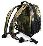 DURAGADGET Camouflage Rucksack mit Herausnehmbaren Trennelementen für Angler