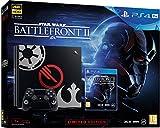 Sony PS4 Pro Limited Edition STAR WARS Battlefront II Bundle 1000GB Wifi Negro - Videoconsolas (PlayStation 4 Pro, 8196 MB, GDDR5, GDDR3, AMD Jaguar, AMD Radeon)