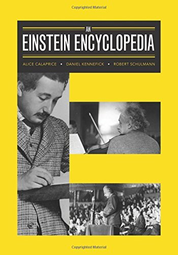 Portada del libro An Einstein Encyclopedia by Alice Calaprice (2015-10-27)