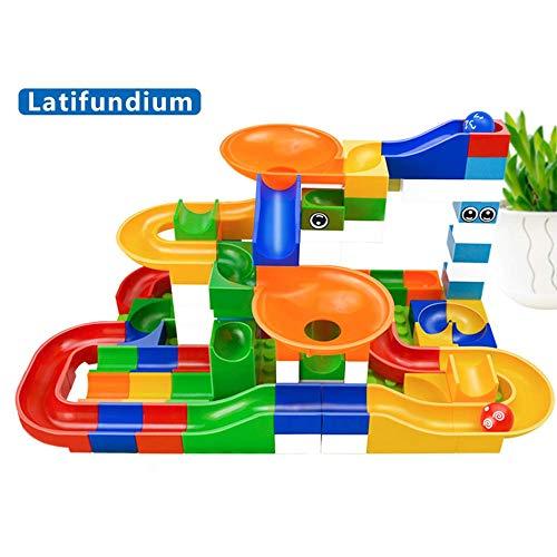 Modell Kinder DIY beherbergt Bunte BAU Spielzeug Dach Kunststoff Blöcke Masse Ziegelstein Ziegel Labyrinth Ball unterrichten 52Pcs Bunten -