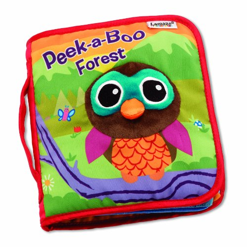 Image of Lamaze Peek a Boo Forest Soft Book