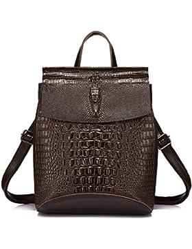 Rucksack Damen Rucksack Leder Umhängetasche Rucksäcke Frauen Schultertasche Tasche Rucksack Handtaschen Multifunktionaler...